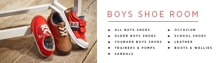 Boys Shoeroom