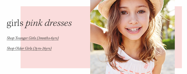 Girls Pink Dresses