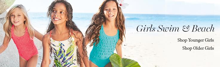 Girls Swim & Beach