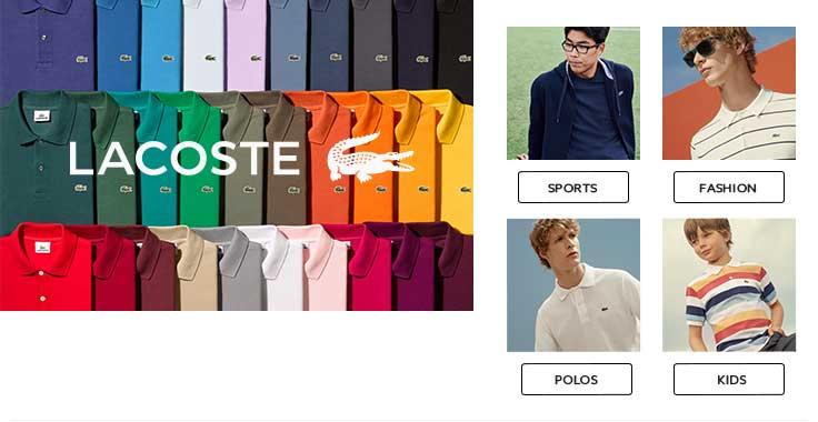 Shop Lacoste