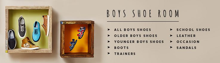 Boys Shoeroom