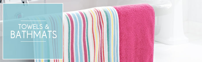 Towels &amp; Bathmats