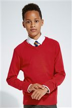 V-Neck Knit Sweater (3-16yrs)