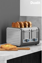 Dualit Grey Architect 4 Slot Toaster