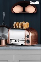 Dualit Copper Classic 4 Slot Toaster.