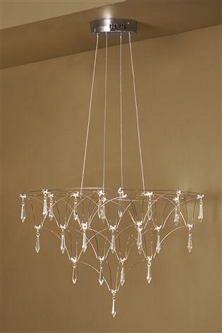 Buy celeste 26 light chandelier from the next uk online shop celeste 26 light chandelier mozeypictures Choice Image