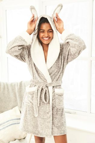 Dressing Gowns at Very. Wrap up your nightwear collection with a dressing gown from our range. For maximum comfort, go for snug styles in cosy fabrics, such as soft fleece. To keep out the chill, choose a longline robe and designs with hoods for maximum coverage.