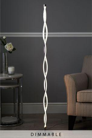 Wave LED Floor Lamp