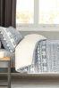 Super Soft Fleece Fairisle Pattern Bed Set