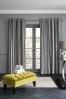 Velvet Stripe Eyelet Curtains