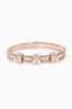 Rose Gold Tone Chain Bracelet