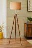 Henley Wooden Tripod Floor Lamp