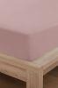 Cotton Rich Plain Dye Fitted Sheet