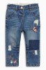 Mid Blue Character Embellished Jeans (3mths-6yrs)
