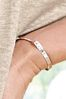 Sterling Silver Metal Bar Pully Bracelet