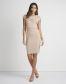 Lipsy Love Michelle Keegan Eyelet Shoulder Detail Dress