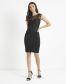 Lipsy Love Michelle Keegan Lace Appliqué Bodycon Dress
