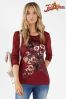 Joe Browns Manhattan Lace Sleeve Top