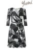 Yumi Pop Jersey Wrap Dress