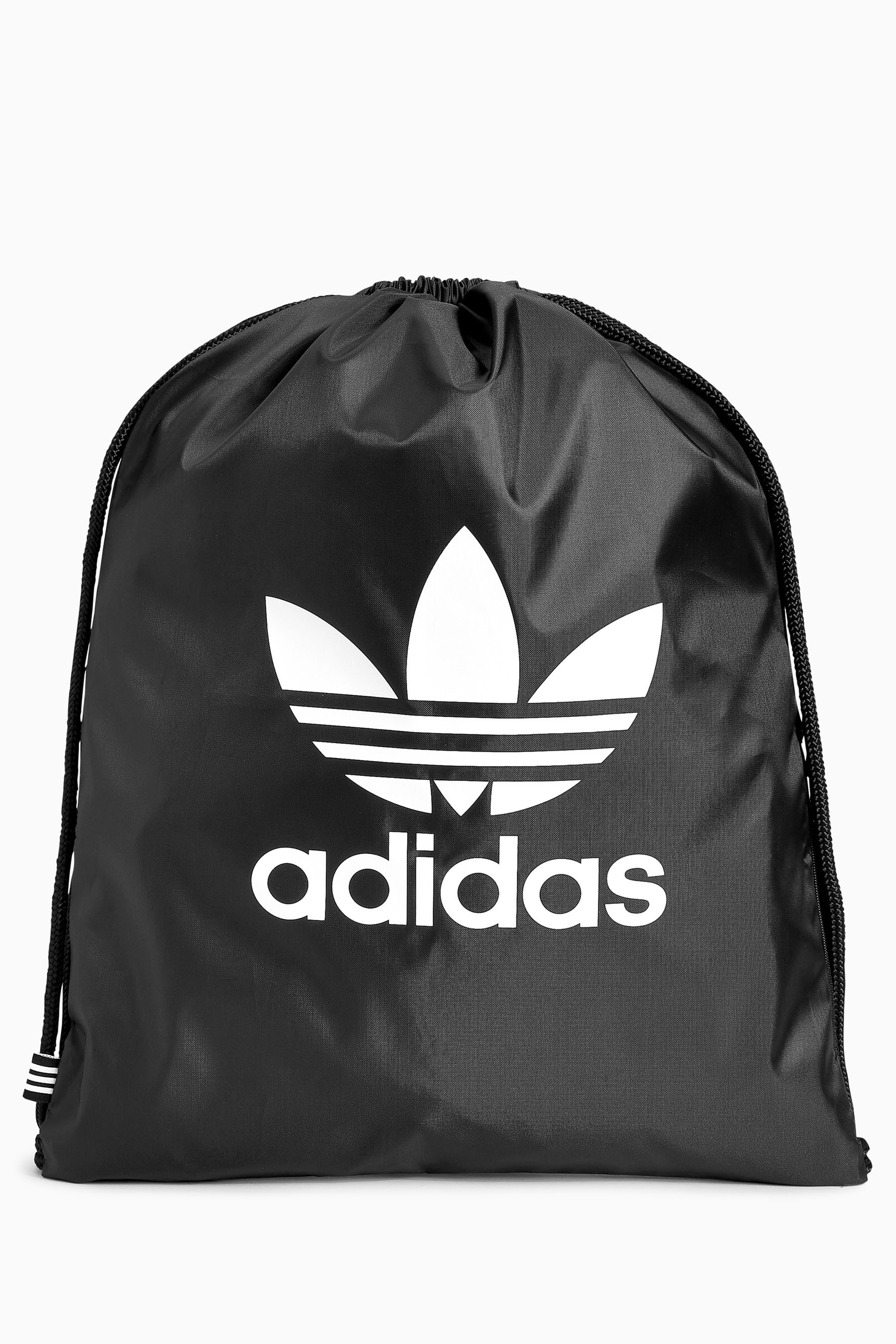 Compare retail prices of Boys Adidas Originals Black Trefoil Gymsack - Black to get the best deal online