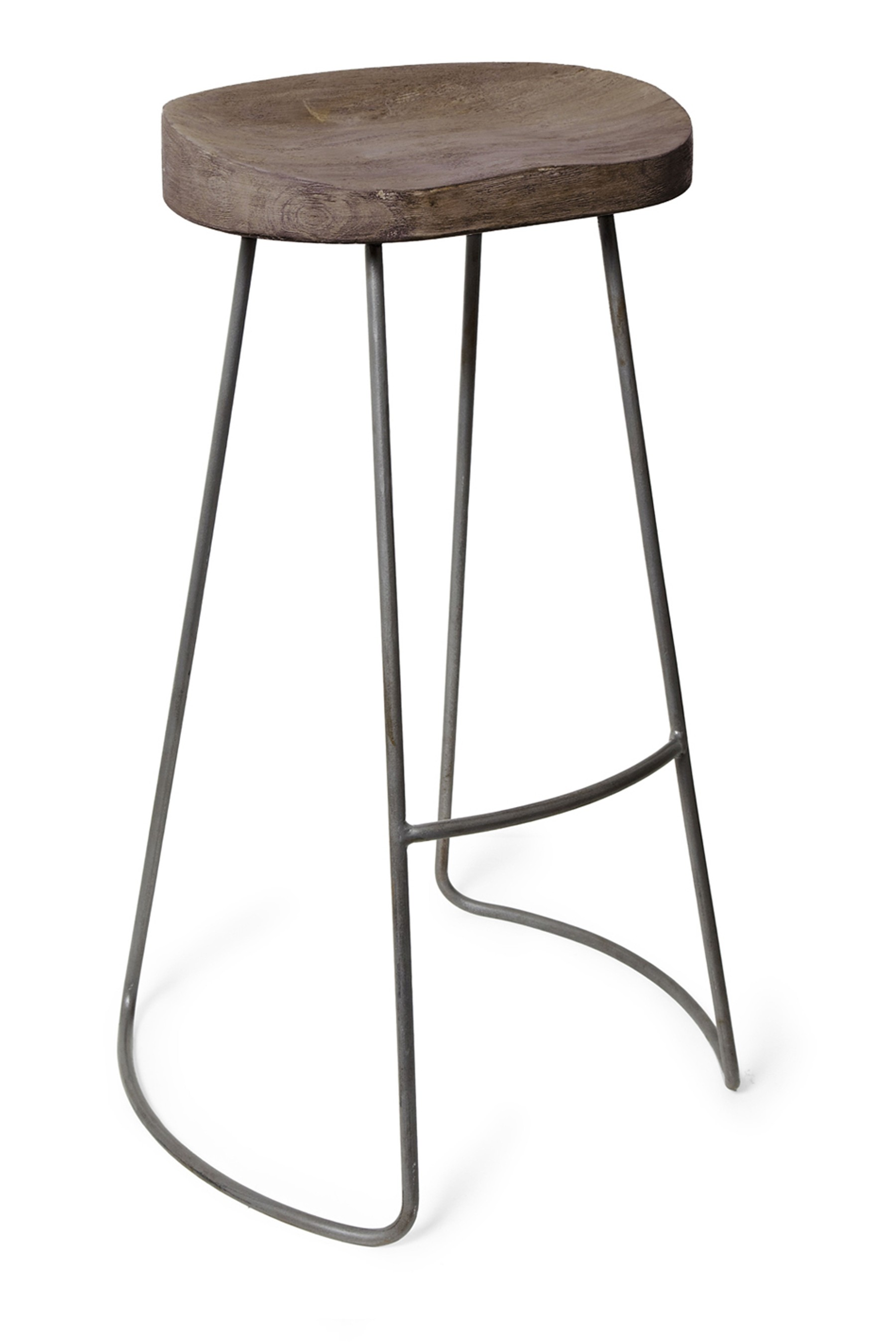 Compare prices for French Connection Roger Bar Stool Silver