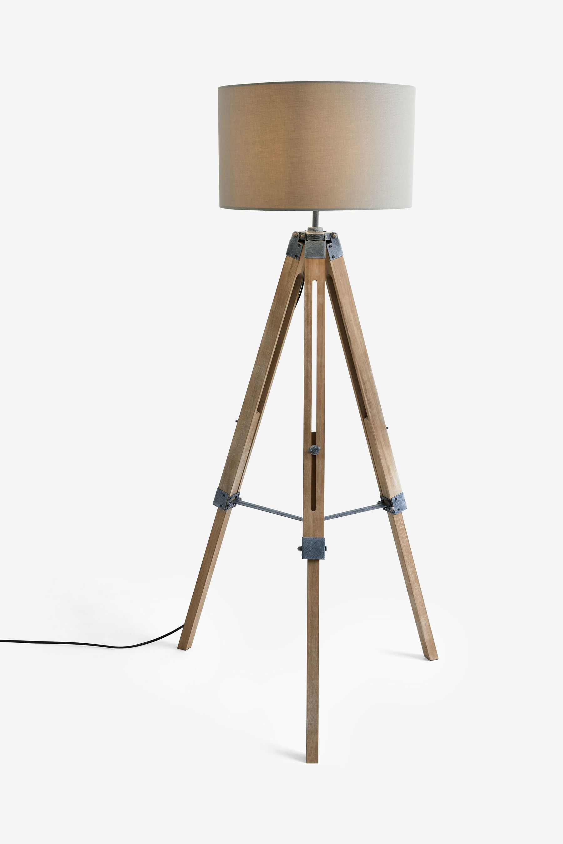 Next alpine tripod floor lamp grey bluewater gbp14000 for Copper floor lamp john lewis
