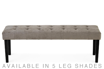 Moda II Upholstered Buttoned Bench
