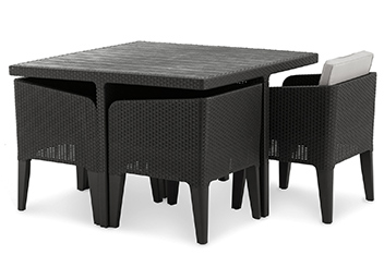 Columbia Garden Dining Set By Allibert