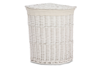 White Willow Laundry Bin