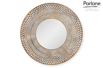 Parlane Hand Carved Wooden Mirror