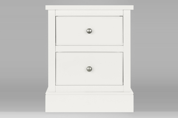 Hove® White Bedside Table