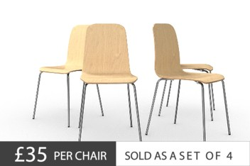 Set Of 4 Arlo Dining Chairs