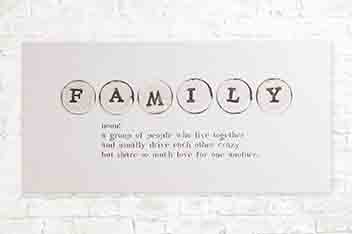 Family Definition Canvas