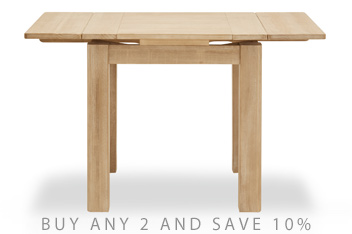 Huxley 4-6 Seater Square To Rectangle Dining Table