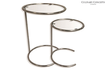 Culinary Concepts Gemini Nest Of 2 Tables
