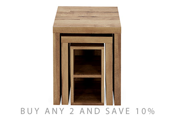 Bronx Set of 3 Nest of Tables