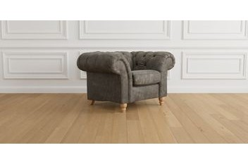 Gosford Buttoned Leather