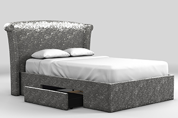 Lily 2 Drawer Bedstead