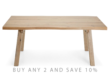 Camden Light 8 Seater Dining Table
