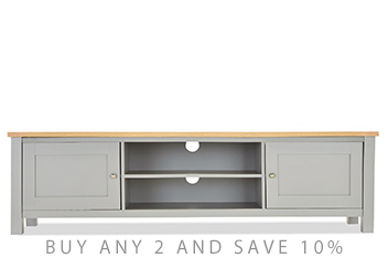 Malvern Grey Super Wide TV Unit