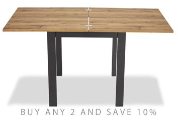 Bronx Square To Rectangle Extending Dining Table