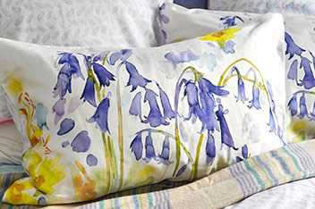 Bluebellgray Bluebell Woods Housewife Pillowcase