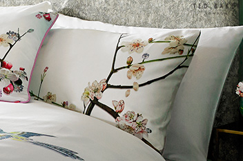 Ted Baker Flight Of The Orient Housewife Pillowcase