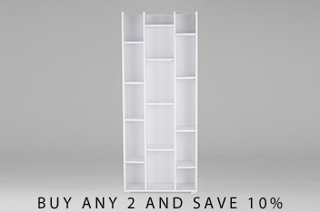 Blanca Tall Shelving