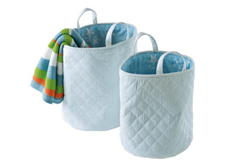 Set Of 2 Storage Tubs