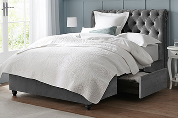 Buy beds and mattresses beds from the next uk online shop for Divan footboard