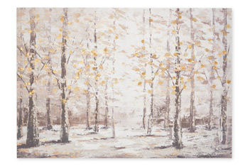Birch Tree Forest Canvas