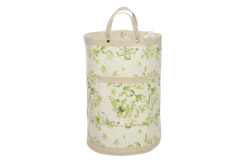 Butterfly Floral Print Laundry Bag