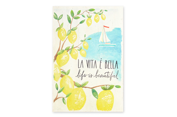 Life Is Beautiful Wall Plaque