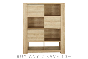 Madsen Open Shelves